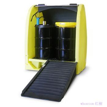 使用油桶制作物品
