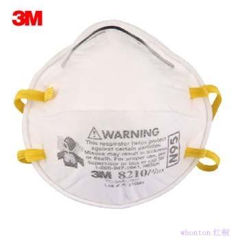 3m 8210 舒适版 n95 颗粒物防护口罩图片