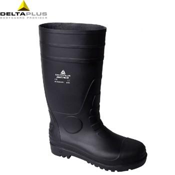 代尔塔pvc高帮安全靴301407