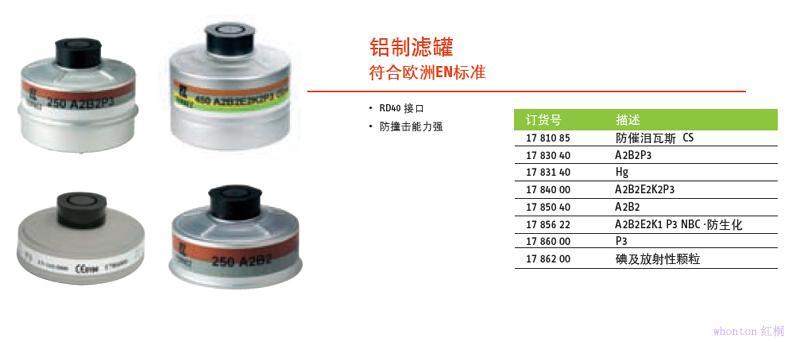 R40铝制滤盒